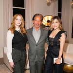 Christina hendricks gary friedman  and sophia bush